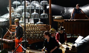 Delusion of the Fury by HarryPartch directed by Heiner Goebbels with Ensemble musikFabrik.