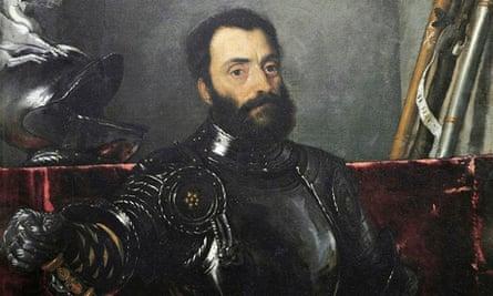 Francesco Maria della Rovere by Titian