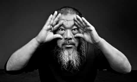 Ai Weiwei in 2012 … he is unlikely to able to visit the exhibition.