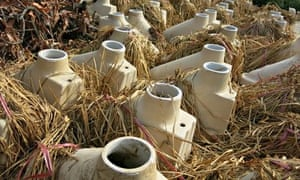 Sanitation: toilet bowls