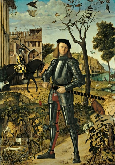 Young Knight (1510) by Vittore Carpaccio.