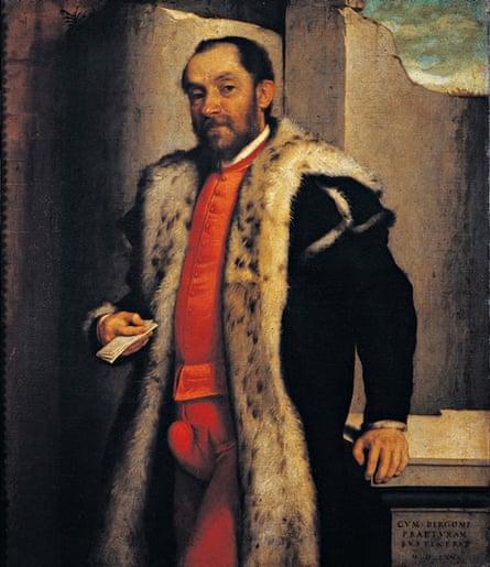 Portrait of Antonio Navagero (1565) by Giovanni Battista Moroni.