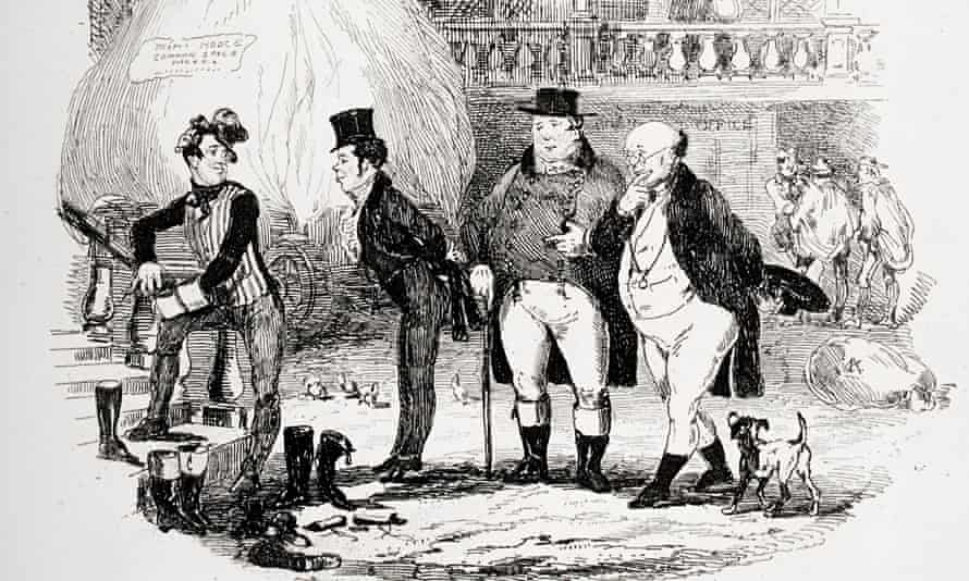 Illustration from the Charles Dickens novel The Pickwick Papers