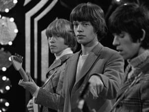 Mick Jagger,Brian Jones and Bill Wyman, c1963