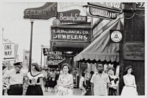 Main Street -- Savannah, Georgia, 1955.
