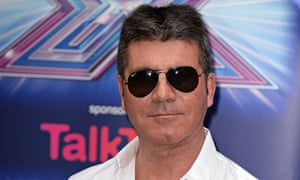 Simon Cowell at the press launch for the new series of The X Factor.