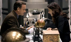 Hanks and Ayelet Zurer in Angels and Demons.