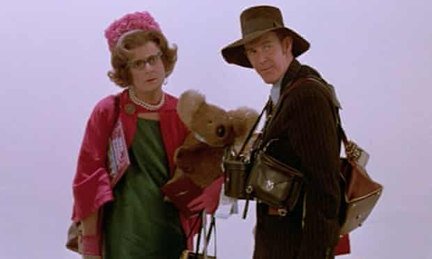 Barry Humphries and Barry Crocker star in The Adventures of Barry McKenzie