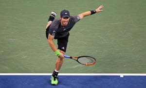 Andy Murray moved through to the next round with few dramas.