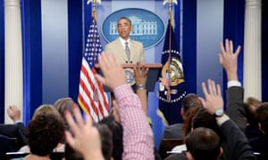 Barack Obama answers questions