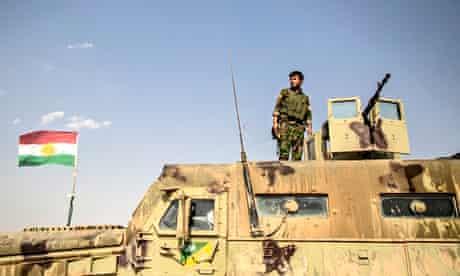 Kurdish troops in northern Iraq