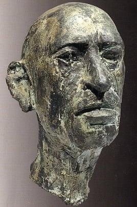 Marino marini's head of Stravinsky