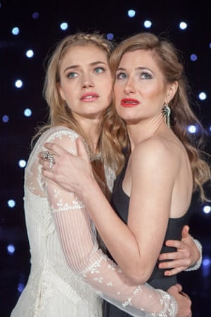 Imogen Poots and Kathryn Hahn in She's Funny That Way.