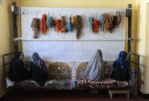 Carpet class in the prison