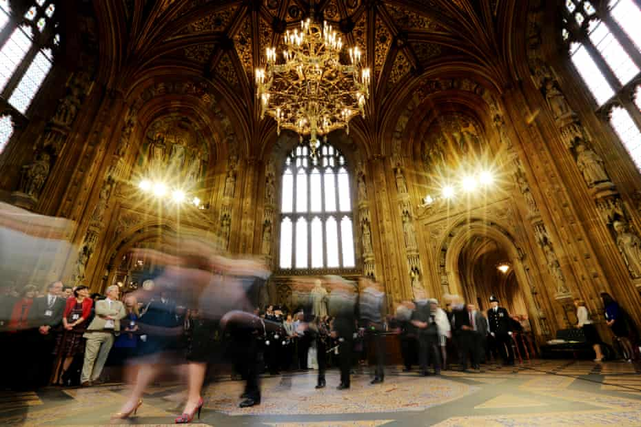 Central lobby at the House of Commons
