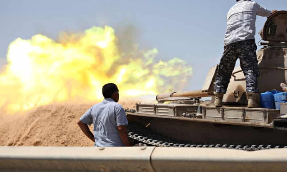 Libya Shield tank