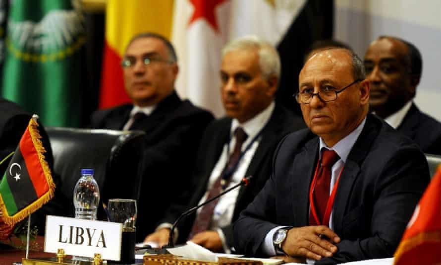 Libya foreign minister, Mohamed Abdel Aziz