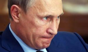 Russian President Vladimir Putin in Yalta, Crimea, this month.