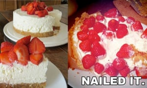 strawberry cheesecake fail