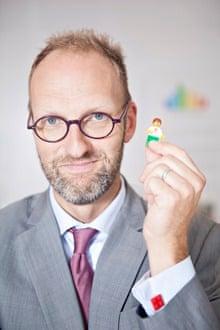 Jørgen Vig Knudstorp, CEO of the Lego Group