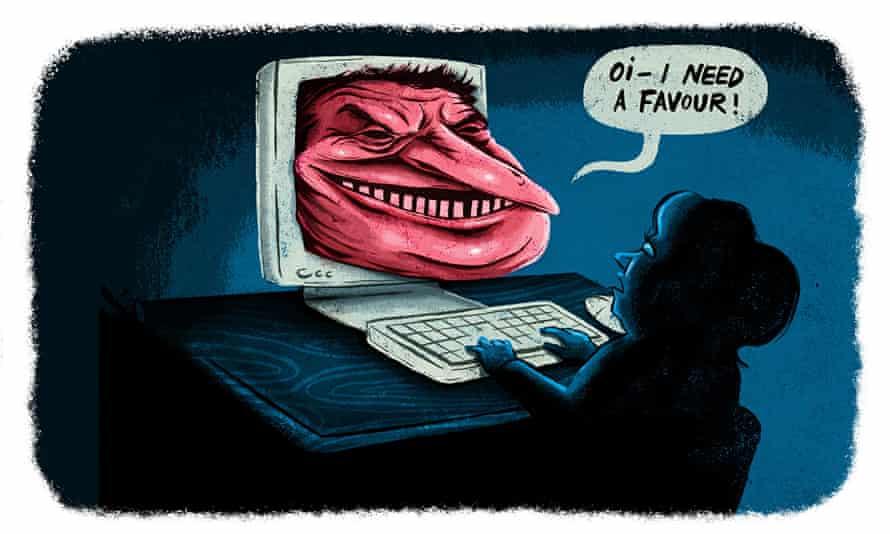 Ben Jennings on trolls