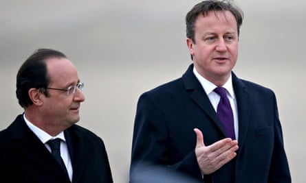 Prime Minister David Cameron And President Francois Hollande Meet For Joint Summit