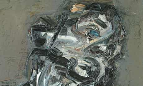 A detail from Frank Auerbach's Head of J.Y.M ll