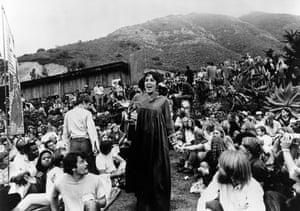 Joan Baez at the Big Sur Folk Festival, 1969