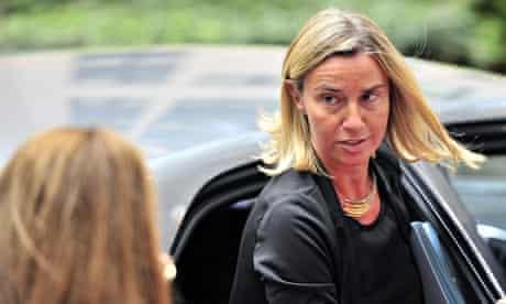 Federica Mogherini Italian foreign minister