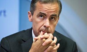 Bank of England Mark Carney