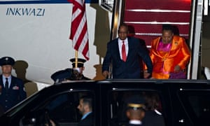 Jacob Zuma attends US-Africa leaders' summit