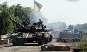 ukrainian troops donetsk