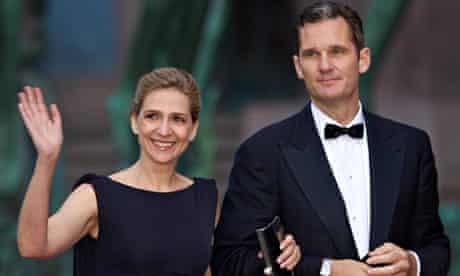Princess Cristina and Iñaki Urdangarin