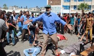 Rafah UN school strike