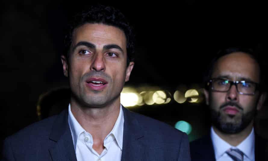 Islamic community spokesman Hany Amer after the meeting.