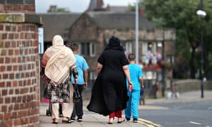 Women and children in Rotherham