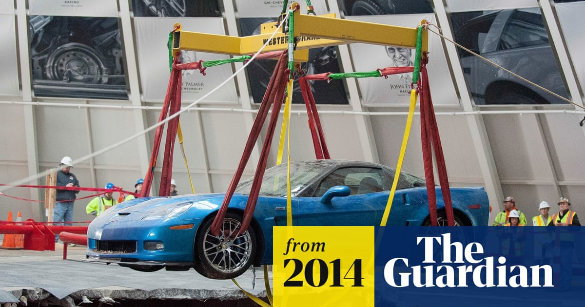 National Corvette Museum >> National Corvette Museum Will Fill Sinkhole Which Became An