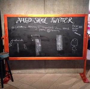 Twitter board FODI 2014