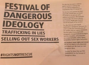 Fodi protester leaflet