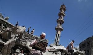 Al-Qassam mosque in Gaza