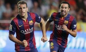 Barcelona's Sandro