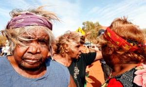 Mutijulu protests