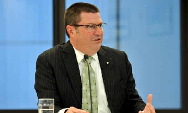 Martin Bowles, secretary of the Department of Immigration and Border Protection, gives evidence at last week's Human Rights Commission inquiry.