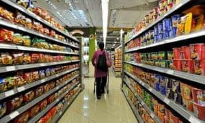 supermarket too much choice