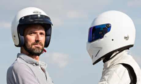 Tim Dowling meets the Stig, at the Top Gear Track Experience.