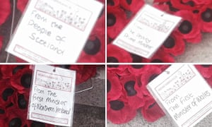 The note cards from wreaths