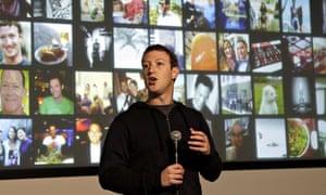 Facebook CEO Mark Zuckerberg speaks at Facebook headquarters in Menlo Park, Calif. Jan 15, 2013.