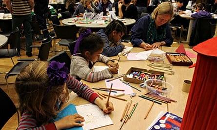 Education Centre - Cartoon & art day 11 October 2013