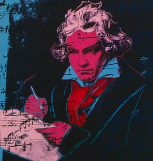 Beethoven by Andy Warhol.
