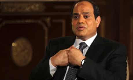 Abdel Fatah al-Sisi.